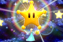 Vista previa de Maxiestrella en la sección de Técnicas de Super Smash Bros. Ultimate
