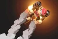 Vista previa de Barriles retropropulsados en la sección de Técnicas de Super Smash Bros. Ultimate