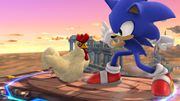Sonic junto al Cuco SSB4 (Wii U).jpg