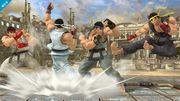 Ryu mostrando su paleta de colores en el Coliseo SSB4 (Wii U).jpg