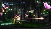 Samus atacando a varios Reos en Metroid Other M.jpg