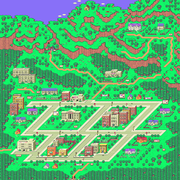 Vista aérea de Onett en EarthBound.png