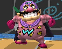 Wario Man en Super Smash Bros. Brawl