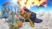 Captain Falcon usando Salto depredador en el aire SSB4 (Wii U).png