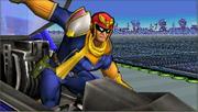 Créditos Modo Leyendas de la lucha Captain Falcon SSB4 (3DS).png