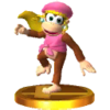Trofeo de Dixie Kong SSB4 (3DS).png