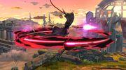 Ataque Aéreo Normal Bayonetta SSB Wii U.jpg