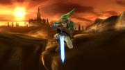 Ataque aéreo inferior de Link SSB4 (Wii U).png