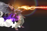 Vista previa de Devil Blaster en la sección de Técnicas de Super Smash Bros. Ultimate