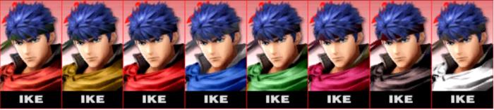 Paleta de colores de Ike SSB4 (3DS).png