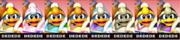 Paleta de colores de Rey Dedede (JAP) SSB4 (3DS).png