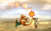 Ataque aereo normal de Charizard SSB4 (3DS).jpg