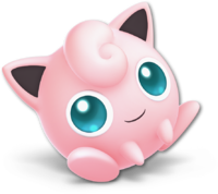 Art oficial de Jigglypuff en Super Smash Bros. Ultimate
