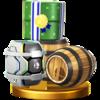 Trofeo de Barriles SSB4 (Wii U).png