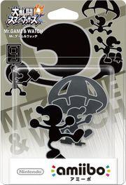 Embalaje del amiibo de Mr. Game & Watch (Japón).jpg