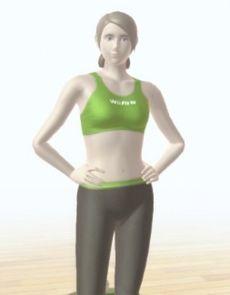 La Entrenadora de Wii Fit en Wii Fit U