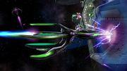 Samus, Palutena y Peach en la Estación espacial SSB4 (Wii U).jpg