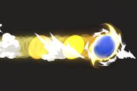 Vista previa de Carga torbellino en la sección de Técnicas de Super Smash Bros. Ultimate