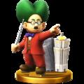 Trofeo de Dr. Wright SSB4 (Wii U).png