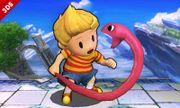 Lucas junto a la Cuerda Serpiente SSB4 (3DS).jpg