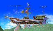 Barco volador de Rainbow Ride en SSBM.png
