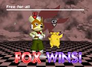 Pose de victoria de Fox (1-1) SSB.png