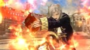 Daraen mujer usando Arcfire en el Coliseo SSB4 (Wii U).png