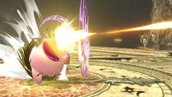 Kirby realizando una variante del Clímax balístico.