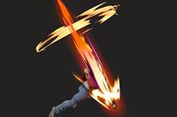 Vista previa de Power Dunk en la sección de Técnicas de Super Smash Bros. Ultimate