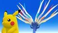 Pikachu y Xerneas SSB4 (Wii U).jpg