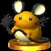 Trofeo de Dedenne SSB4 (3DS).png