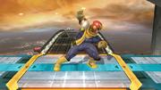 Pose de espera de Captain Falcon (1-2) SSB4 (Wii U).png