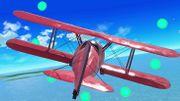 Avion rojo pasando por el anillo de estrellas en Pilotwings SSBU.jpg