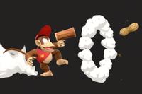 Vista previa de Cacahuatola/Cacahuetola en la sección de Técnicas de Super Smash Bros. Ultimate