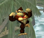 Ataque aéreo hacia abajo de Donkey Kong SSBM.png