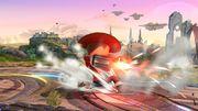 Ataque de recuperación boca arriba (1) Tirador Mii SSB4 Wii U.jpg