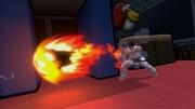 Ryu realizando Shakunetsu Hadoken SSBU.jpg