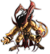 Art de Ifrit en Dissidia Final Fantasy (2015).png