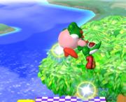 Lanzamiento hacia arriba de Kirby (1) SSBM.png
