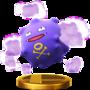 Trofeo de Koffing SSB4 (Wii U).png
