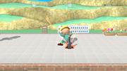 Jeff preparando un cohete botella SSB4 (Wii U).png