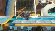 Ataque fuerte inferior de Captain Falcon SSB4 (Wii U).png