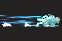 Vista previa de Ilusión Fox en la sección de Técnicas de Super Smash Bros. Ultimate
