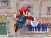 Ataque aéreo hacia adelante (3) Mario SSBB.jpg