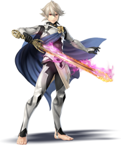 Art oficial de Corrin en Super Smash Bros. for Nintendo 3DS / Wii U