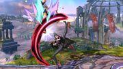 Lanzamiento Hacia Arriba Bayonetta SSB Wii U.jpg