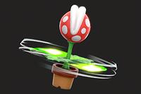 Vista previa del Pirañacóptero en la sección de Técnicas de Super Smash Bros. Ultimate