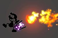 Vista previa de Balde/Cubo en la sección de Técnicas de Super Smash Bros. Ultimate
