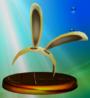 Trofeo de Capucha de Conejo SSBM.png