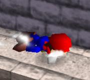 Ataque Smash hacia abajo de Mario (2) SSB.png
